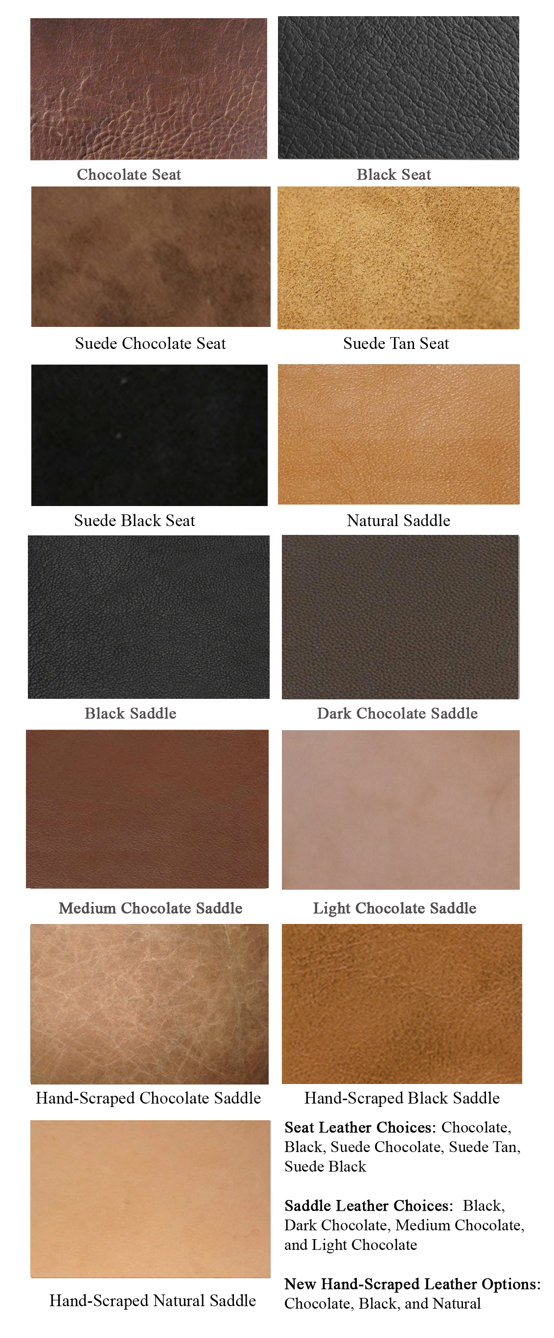 SteeleSaddleLeatherOptions