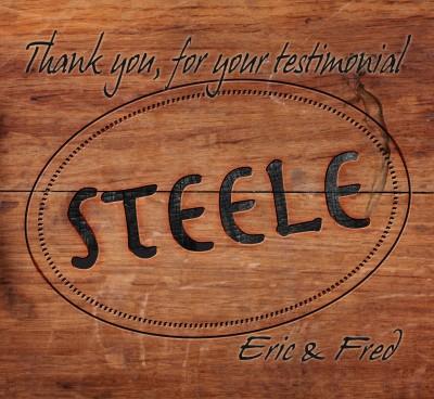 I am thrilled with my Steele saddle!