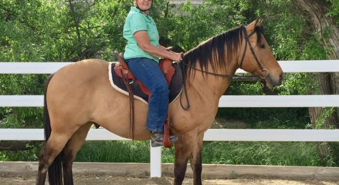 I love this saddle and so does my horse!