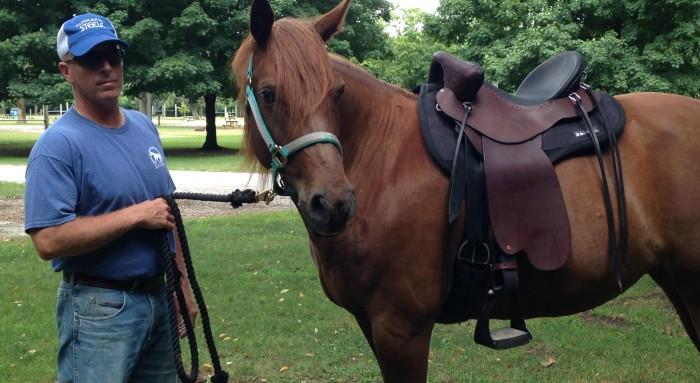 My new Steele saddle fits like a glove!