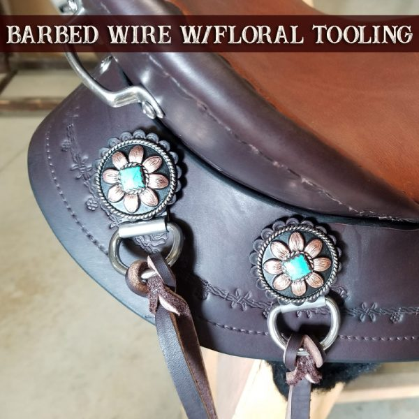 Barbed Wire Floral Tooling